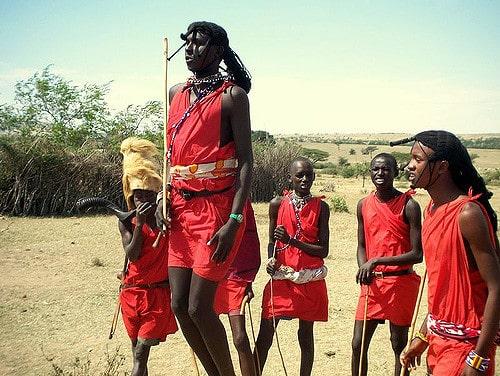 Condition physique d'une tribu maasaï - Santé d'Acier